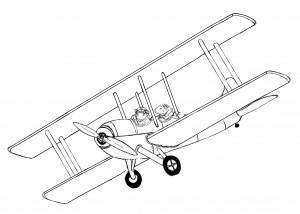 printable-biplane