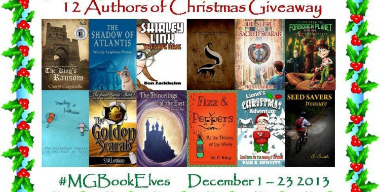 #MGBookElves Christmas Giveaway