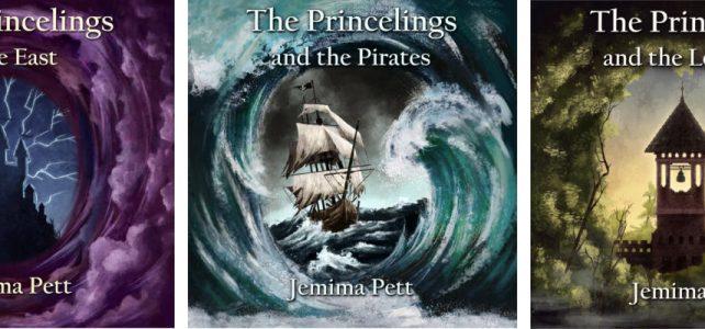 three princelings audiobook covers