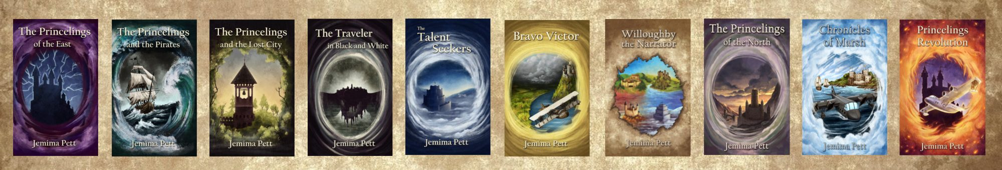 The Princelings Books: Jemima Pett