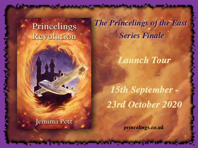 Princelings revolution tour badge