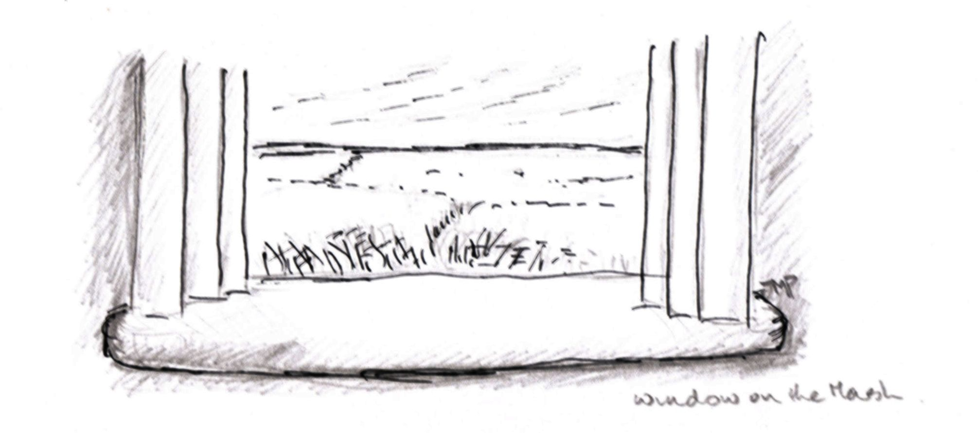 window on the marsh