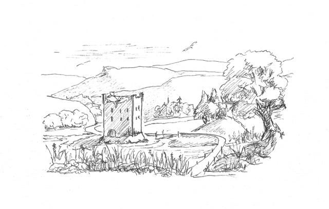 derisaig-castle-summer